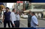 Alan ve Türkmen sokaklardaydı...