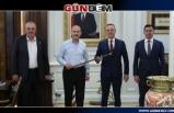 Başkanlardan Bakan Süleyman Soylu'ya ziyaret