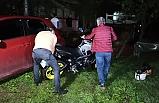 'Dur' ihtarına uymadı, polisin üzerine motosiklet sürdü...