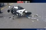 Ereğli'de kaza...