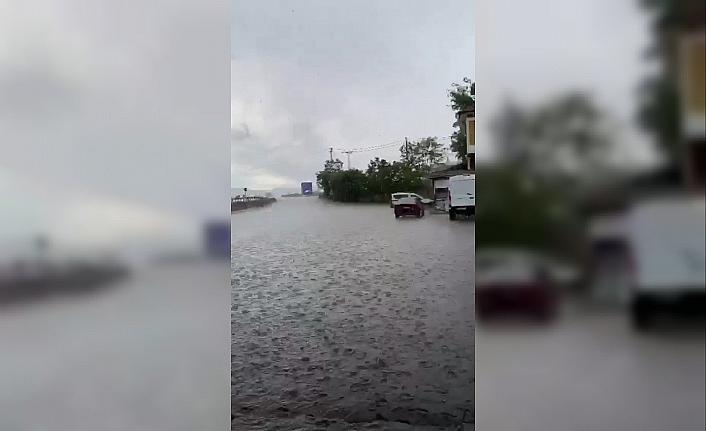 Karabük'te şiddetli dolu ve yağmur etkili oldu