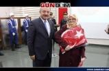 Türkmen,  Jandarma Teşkilatını kutladı...