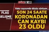 Türkiye'de vaka sayısı 185 bin 245'e yükseldi