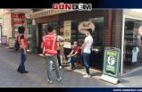 Zonguldak'ta Polis Maske Denetimine Başladı...