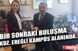 BEÜ REKTÖRÜ ÇUFALI'DAN, BAŞDANIŞMAN ORUÇ'A ZİYARET
