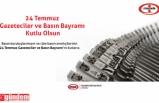 ERDEMİR, 24 TEMMUZ BASIN BAYRAMINI KUTLADI