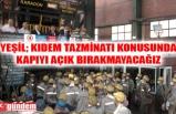 GMİS YÖNETİMİ, KARADON KİLİMLİ İŞLETMESİ'NDE MADENCİLERİ ZİYARET ETTİ