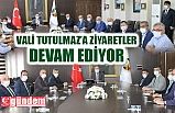 İL GENEL MECLİSİ VE AK PARTİ HEYETİNDEN VALİ TUTULMAZ'A ZİYARET