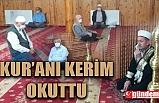 ORMANLI BELEDİYE BAŞKANI BAŞOL, 15 TEMMUZ ŞEHİT VE GAZİLERİ İÇİN KUR'AN'I KERİM OKUTTU