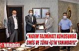 """TÜRK ENERJİ SEN GENEL BAŞKANI TÜMER """" TÜRK-İŞ VE GMİS'İN YANINDAYIZ"""""""