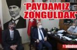 VALİ TUTULMAZ'DAN ZGC'YE KUTLAMA ZİYARETİ