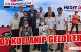 ZONGULDAK KURULTAY DELEGELERİ ANKARA'DAYDI...