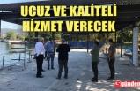 BAŞKAN POSBIYIK, 'HALK KAFE' ÇALIŞMALARINI DENETLEDİ
