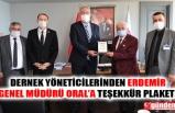 EREĞLİ'DEKİ 4 DERNEKTEN ERDEMİR'E TEŞEKKÜR ZİYARETİ