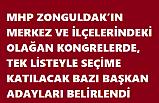MHP'NİN BAŞKAN ADAYLARI BELİRLENDİ