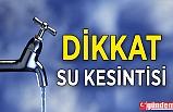 ZONGULDAK'TA SULAR KESİLECEK !