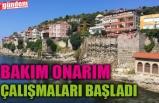 AMASRA KALESİ BAKIM ONARIM ÇALIŞMALARINA BAŞLANDI