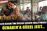 CZN BURAK'TAN ÖNCEKİ DÖNEM MİLLETVEKİLİ ÖZBAKIR'A GÜZEL JEST...
