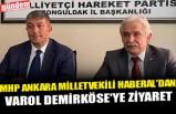 MHP ANKARA MİLLETVEKİLİ HABERAL'DAN, VAROL DEMİRKÖSE'YE ZİYARET