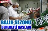 SEZONUN İLK BALIKLARI TEZGAHLARDA YERİNİ ALDI