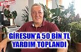 ZONGULDAK, BARTIN VE KARABÜK'TEN GİRESUN'A YARDIM ELİ...