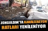 ZONGULDAK'TA KANALİZASYON HATLARI YENİLENİYOR