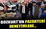 DEVREK BELEDİYE BAŞKANI BOZKURT, PAZARYERİNDE DENETİMLERDE BULUNDU