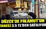DÜZCE'DE PALAMUT'UN  TANESİ 3.5 TL'DEN SATILIYOR