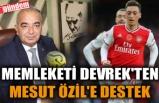 MEMLEKETİ DEVREK'TEN MESUT ÖZİL'E DESTEK