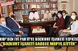 """MHP'den İyi Parti'ye Bozkurt işareti tepkisi: """"Bozkurt işareti Sadece MHPye aittir"""""""