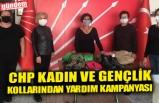 CHP KADIN VE GENÇLİK KOLLARINDAN YARDIM KAMPANYASI