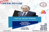Prof. Dr. Nevzat Tarhan 'Pandemi Sonrasında İnsanlık' Başlıklı Söyleşiye Katıldı
