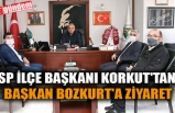 SP İLÇE BAŞKANI KORKUT'TAN, BAŞKAN BOZKURT'A ZİYARET