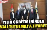 YILIN ÖĞRETMENİNDEN VALİ TUTULMAZ'A ZİYARET