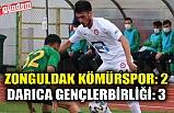 Zonguldak Kömürspor: 2 - Darıca Gençlerbirliği: 3