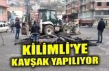 KİLİMLİ'YE KAVŞAK YAPILIYOR