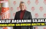 KULÜP BAŞKANINI SİLAHLA YARALAYAN SALDIRGAN ADLİYE'DE...