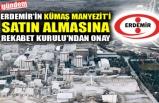 ERDEMİR'İN KÜMAŞ MANYEZİT'İ SATIN ALMASINA REKABET KURULU'NDAN ONAY