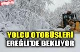YOLCU OTOBÜSLERİ EREĞLİ'DE BEKLİYOR