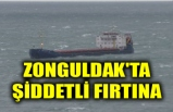 ZONGULDAK'TA ŞİDDETLİ FIRTINA