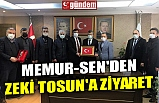 MEMUR-SEN'DEN ZEKİ TOSUN'A ZİYARET