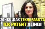 ZONGULDAK TEKNOPARK'TA İLK PATENT ALINDI