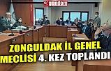 ZONGULDAK İL GENEL MECLİSİ 4. KEZ TOPLANDI