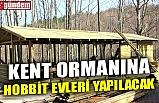 KENT ORMANINA HOBBİT EVLERİ YAPILACAK