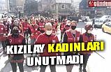 KIZILAY KADINLARI UNUTMADI