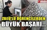 ZBEÜ'LÜ ÖĞRENCİLERDEN BÜYÜK BAŞARI...