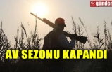 AV SEZONU KAPANDI