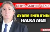 AYDEM ENERJİ' NİN HALKA ARZI