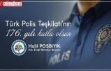 BAŞKAN POSBIYIK, POLİS TEŞKİLATININ YILDÖNÜMÜNÜ KUTLADI