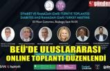 BEÜ'DE ULUSLARARASI ONLINE TOPLANTI DÜZENLENDİ